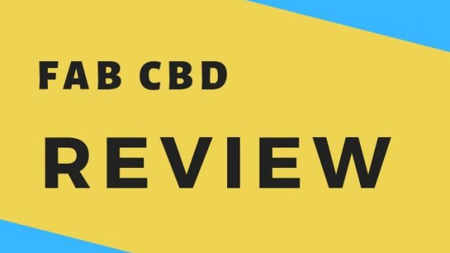 FabCBD Review & Coupon Code