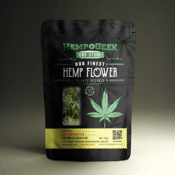 Packaged Hemp Flower