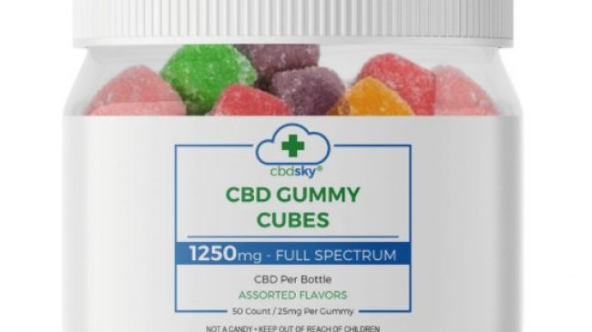 CBD Sky Gummies: Cubes, Bears and Rings!