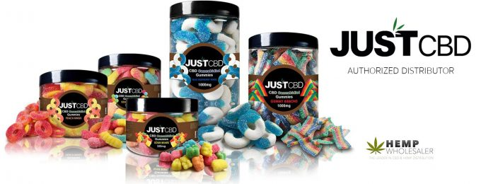 JUSTCBD Authorized Distributor