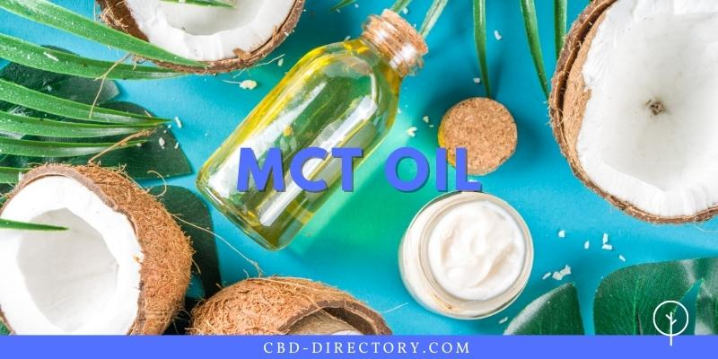mct oil - carrier